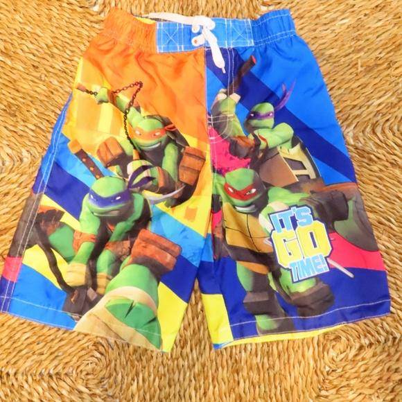 9a3b5c9052 Nickelodeon Swim | Teenage Mutant Ninja Turtles Trunks Size 7 | Poshmark